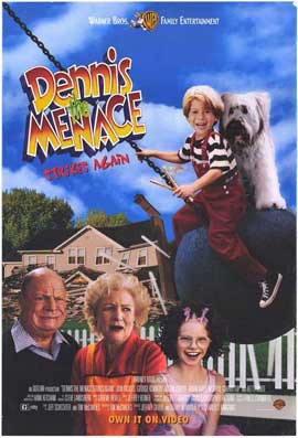 Dennis the Menace Strikes Again - 11 x 17 Movie Poster - Style A
