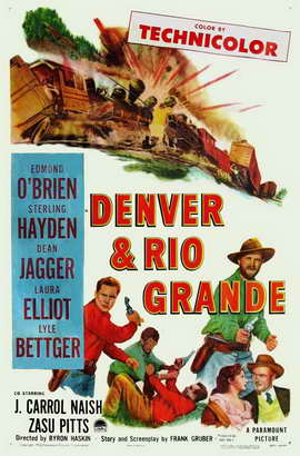 Denver And Rio Grande - 11 x 17 Movie Poster - Style A