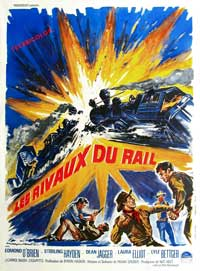 Denver And Rio Grande - 11 x 17 Movie Poster - French Style A
