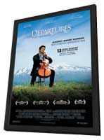 Departures - 11 x 17 Movie Poster - Style A - in Deluxe Wood Frame