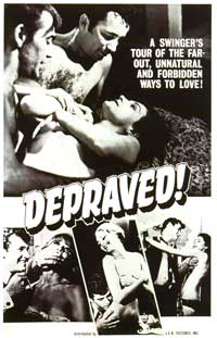 Depraved! - 27 x 40 Movie Poster - Style A