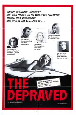 Depraved - 27 x 40 Movie Poster - Style A