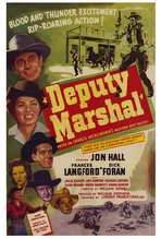 Deputy Marshal - 27 x 40 Movie Poster - Style A