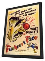Der Fuehrer's Face - 11 x 17 Movie Poster - Style A - in Deluxe Wood Frame