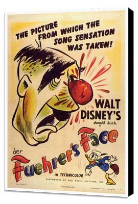 Der Fuehrer's Face - 27 x 40 Movie Poster - Style A - Museum Wrapped Canvas