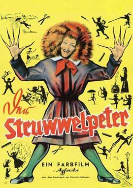 Der Struwwelpeter - 27 x 40 Movie Poster - German Style A