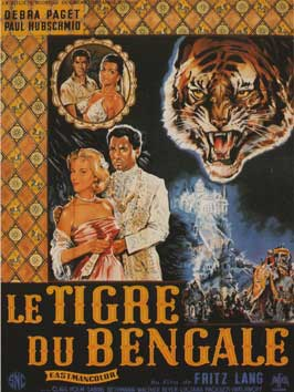 Der Tiger von Eschnapur - 11 x 17 Movie Poster - French Style A