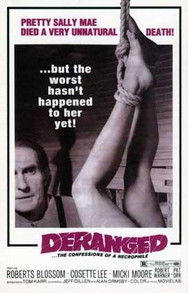 Deranged - 11 x 17 Movie Poster - Style A