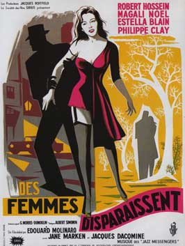 Des femmes disparaissent - 11 x 17 Movie Poster - French Style A