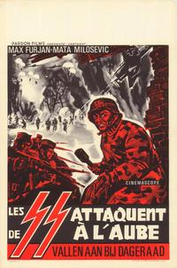 Descent on Drvar - 27 x 40 Movie Poster - Belgian Style A