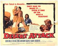 Desert Attack - 22 x 28 Movie Poster - Half Sheet Style A