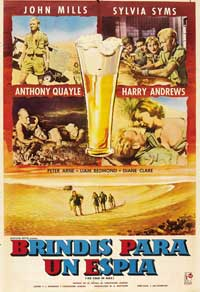 Desert Attack - 11 x 17 Movie Poster - Spanish Style A