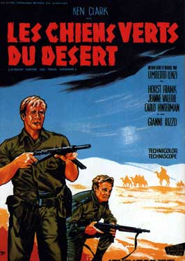 Desert Commandos - 11 x 17 Movie Poster - French Style A