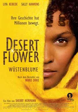 Desert Flower - 11 x 17 Movie Poster - Swiss Style C