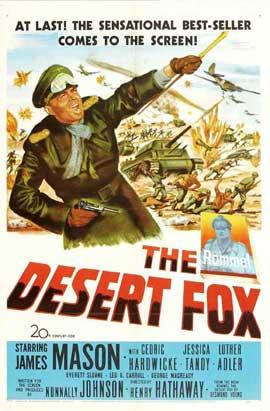 The Desert Fox - 11 x 17 Movie Poster - Style B