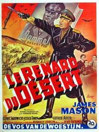 The Desert Fox - 11 x 17 Movie Poster - Belgian Style A