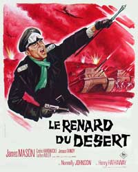 The Desert Fox - 11 x 17 Movie Poster - French Style A