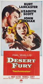 Desert Fury - 20 x 40 Movie Poster - Style A