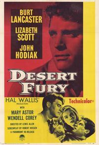Desert Fury - 11 x 17 Movie Poster - Style B