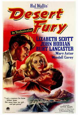 Desert Fury - 27 x 40 Movie Poster - Style A