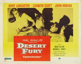 Desert Fury - 22 x 28 Movie Poster - Style A