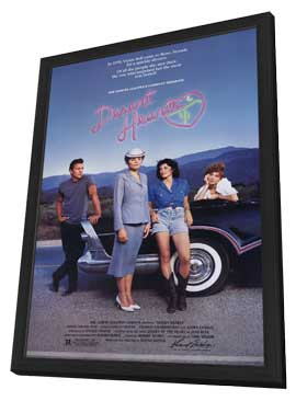 Desert Hearts - 11 x 17 Movie Poster - Style A - in Deluxe Wood Frame