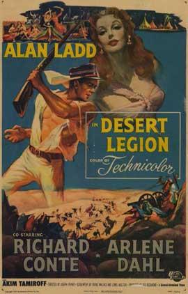 Desert Legion - 11 x 17 Movie Poster - Style A