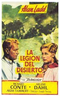 Desert Legion - 11 x 17 Movie Poster - Spanish Style A
