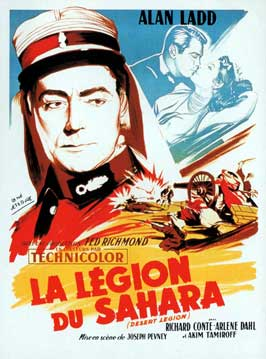 Desert Legion - 11 x 17 Movie Poster - French Style A