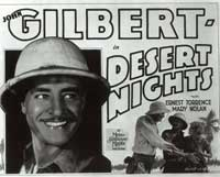 Desert Nights - 11 x 14 Movie Poster - Style A
