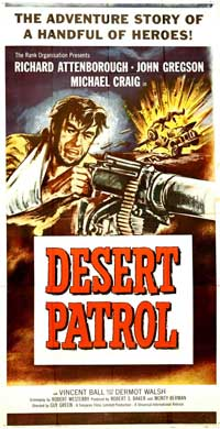 Desert Patrol - 20 x 40 Movie Poster - Style A