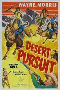 Desert Pursuit - 11 x 17 Movie Poster - Style A