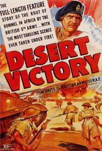 Desert Victory - 27 x 40 Movie Poster - Style A