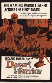 Desert Warrior - 11 x 17 Movie Poster - Style A