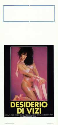 Desiderio Di Vizi - 13 x 28 Movie Poster - Italian Style A