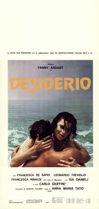 Desiderio - 13 x 28 Movie Poster - Italian Style A