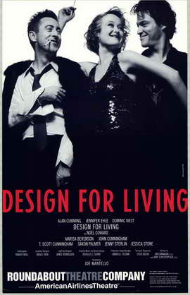 Design For Living (stage play) - 11 x 17 Poster - Style A