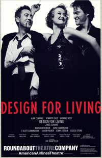 Design For Living (stage play) - 27 x 40 Poster - Style A