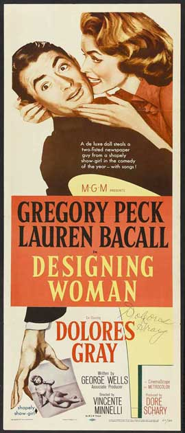 Designing Woman - 14 x 36 Movie Poster - Insert Style A