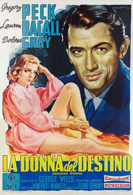 Designing Woman - 11 x 17 Movie Poster - Italian Style A