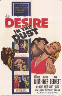 Desire in the Dust - 11 x 17 Movie Poster - Style A