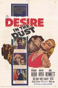 Desire in the Dust - 27 x 40 Movie Poster - Style A