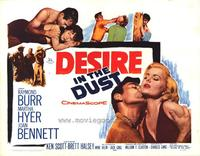 Desire in the Dust - 22 x 28 Movie Poster - Half Sheet Style A