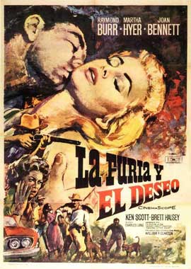 Desire in the Dust - 11 x 17 Movie Poster - Spanish Style A
