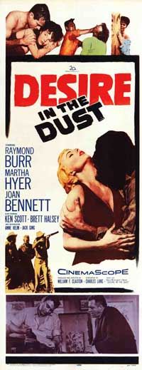 Desire in the Dust - 14 x 36 Movie Poster - Insert Style A