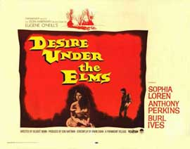 Desire Under the Elms - 11 x 14 Movie Poster - Style A