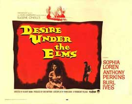 Desire Under the Elms - 22 x 28 Movie Poster - Half Sheet Style A
