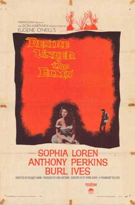 Desire Under the Elms - 11 x 17 Movie Poster - Style A