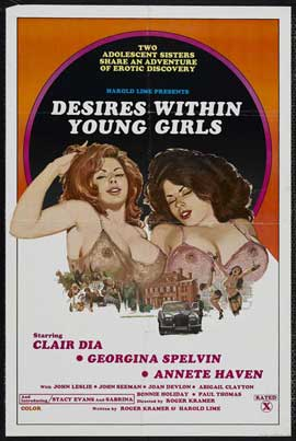 Desires Within Young Girls - 11 x 17 Movie Poster - Style A