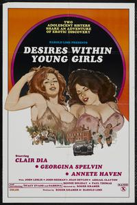 Desires Within Young Girls - 27 x 40 Movie Poster - Style A